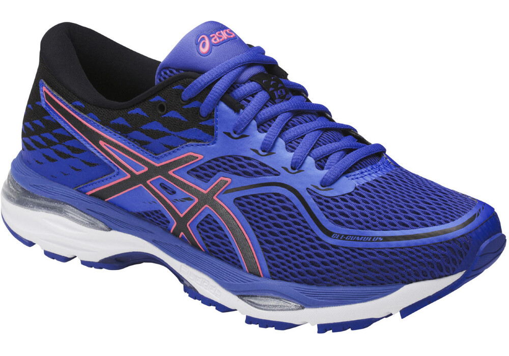 Asics Gel Cumulus  Women S Shoes Blue Silver Pink